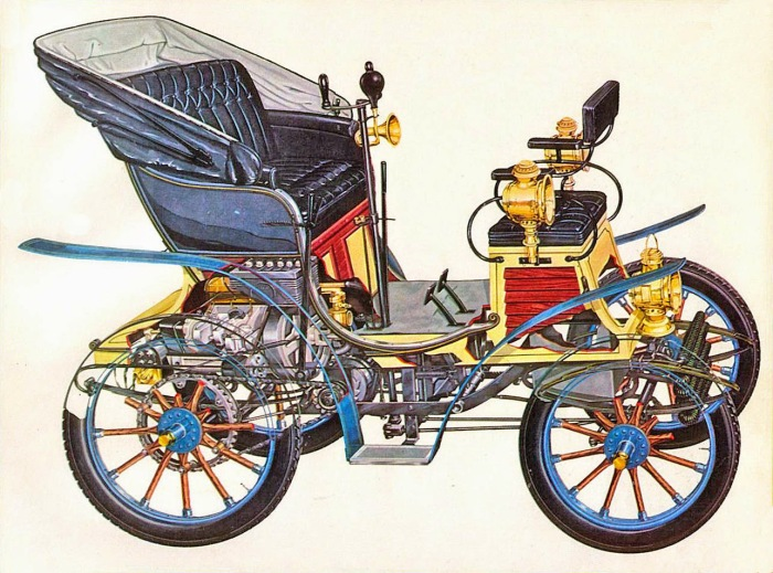 Fiat 1899 3 HP