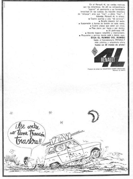 Publicidad Renault 4L