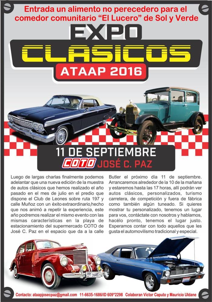 Afiche ATAAP 2016