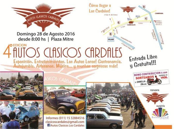 Afiche Los Cardales 2016