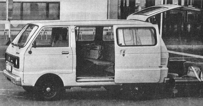 Daihatsu Cab Van 1980