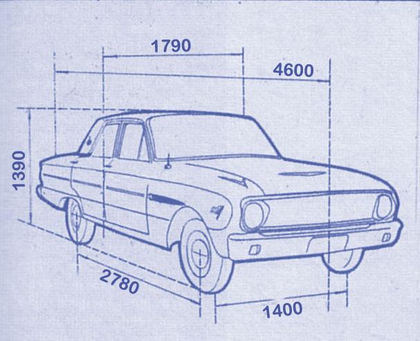 Ford Falcon Futura 1965