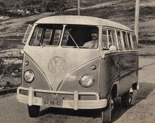 Volkswagen Kombi de 1964 fabricada por Volkswagen do Brasil y testeada por la revista Quatro Rodas.