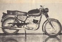Motocicleta Puma Super Sport 200 del año 1963 fabricada por DINFIA.