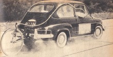El Fiat 600 D en el 4º road test de la revista Parabrisas