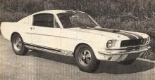 Mustang Shelby GT 350 de 1965 desarrollado por Carroll Shelby.