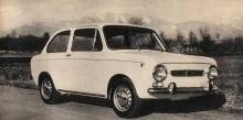 Fiat 850 Especial del año 1968.