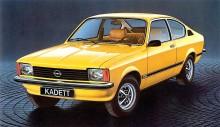 Opel Kadett Coupé De Luxe SR de 1978.