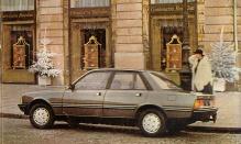 Peugeot 505 SR y SRD Turbo de la línea Salón '85 fabricado por Sevel Argentina.
