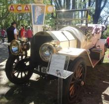El Fiat de 1908 con carrocería de tipo Grand Touring.