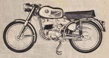 Zanella 125 S.S. del año 1963 fabricada por Zanella Hermanos.