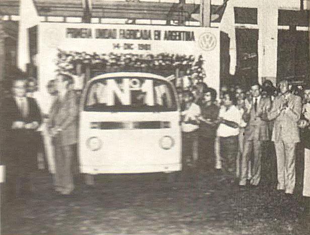 Primer Volkswagen Furgón Argentina